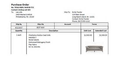 Purchase Orders Order Email Manager Vendor Cut