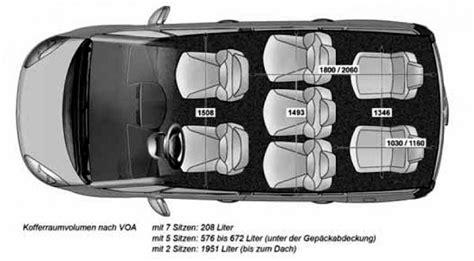 Citroen Grand C4 Picasso  Abmessungen & Technische Daten