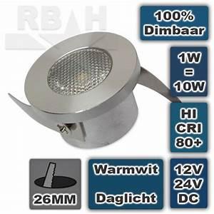 Kleine Led Lampjes : kleine led spot inbouw 12v 1w 2700k dimbaar ~ Markanthonyermac.com Haus und Dekorationen