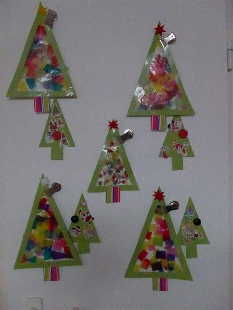 Fensterbilder Weihnachten Basteln Einfach by Tannenbaum Fensterbild Weihnachten Und Winter