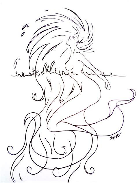 sirena mermaid  xaide  deviantart
