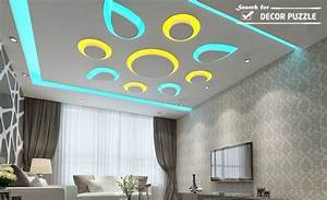 Simple Pop Design For Rooms - pop ceiling decor in living