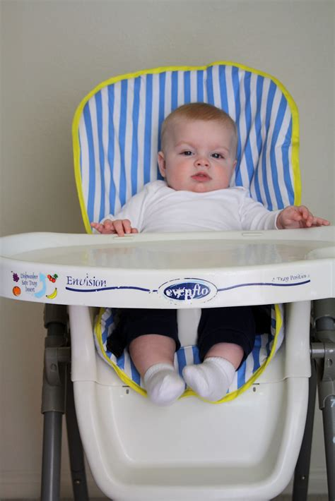 Sparkle Power! Sewn Highchair Seat Cover