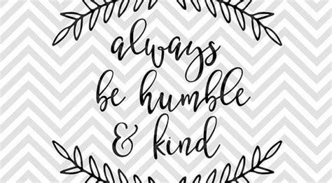 humble  kind bible verse calligraphy