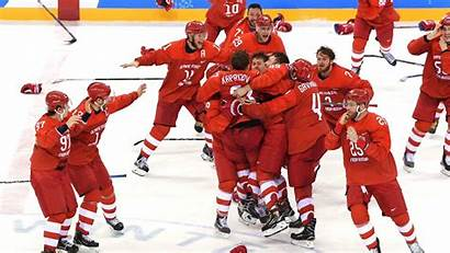 Hockey Russia Gold Medal Olympic Olympics Ice