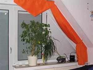 Vorhang Für Dachschräge : verkaufe gardinen orange weiss gebraucht in harthausen gardinen jalousien kaufen und ~ Markanthonyermac.com Haus und Dekorationen