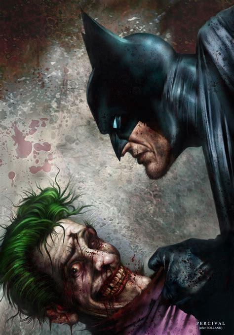 Batman Vs Joker By Nickpercival On Deviantart