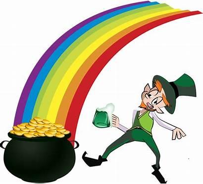 Leprechaun Rainbow Clipart Svg Microsoft Sign Clipground