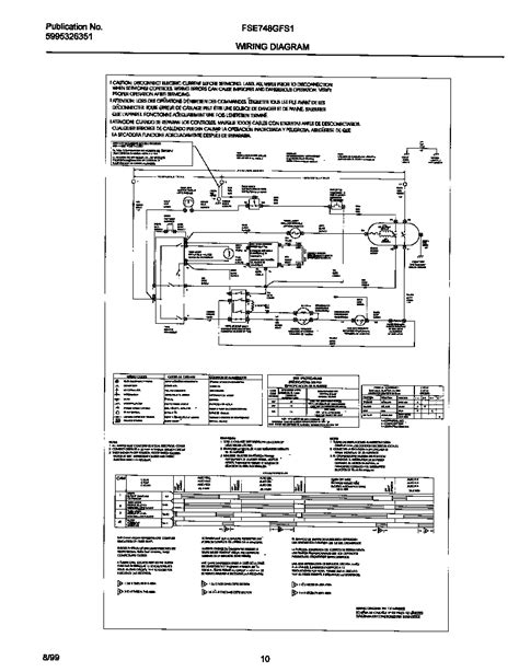 diagram frigidaire dryer wiring diagram