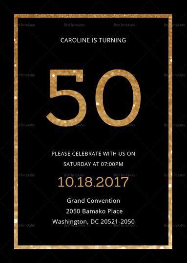 View 36+ Invitation Card Design Black And Gold
