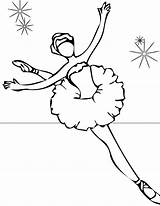 Ballet Coloring Pages Print sketch template