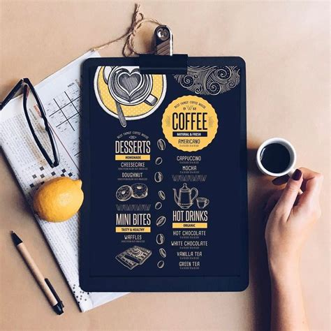 Interior scene of modern coffee shop counter bar , vector , illustration. Latest project menu for Coffee house   Menu design, Bakery menu, Coffee shop menu