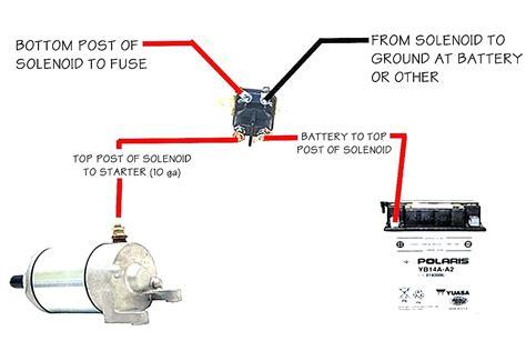 starter solenoid wiring diagram for lawn mower wellread me