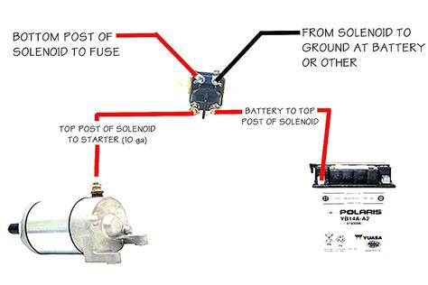 Starter Solenoid Wiring Diagram For Lawn Mower Wellread