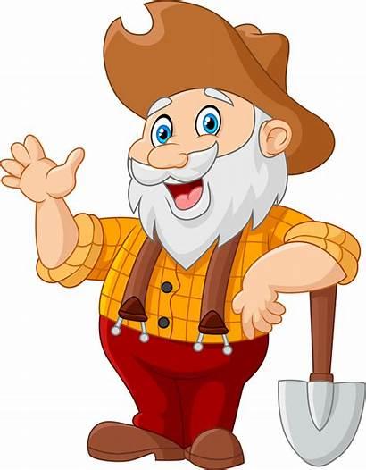 Clipart Grandpa Baseball Miner Cartoon Elite Miners