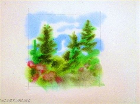 Nass In Nass Technik by The Complete Guide To In Watercolor Technique