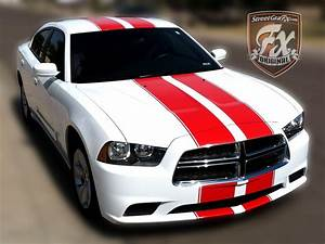 Dodge Charger Stripes  Racing Stripes  U0026 R  T Graphic Kit