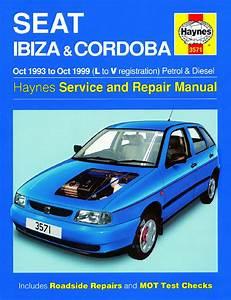 Haynes Manual Seat Ibiza  U0026 Cordoba Petrol  U0026 Diesel 1993