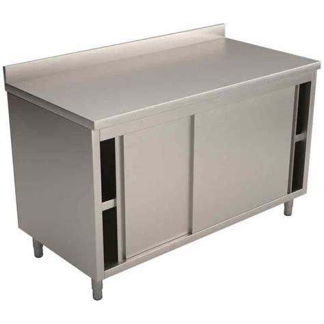 meuble inox cuisine pro meubles bas de cuisine comparez les prix pour