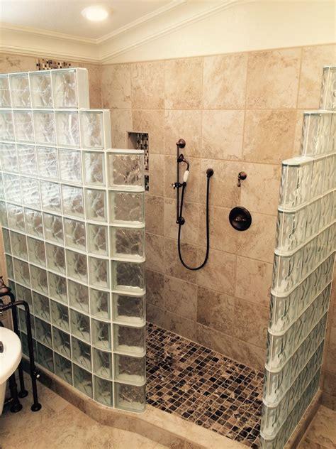 kitchen tile floor designs my customer s top 5 fears of a glass block walk in shower
