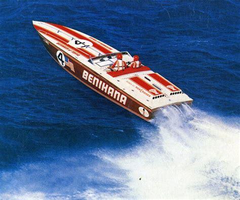 Cigarette Boat Poster by Calvert Santoro Cigarette Boats Are Designed