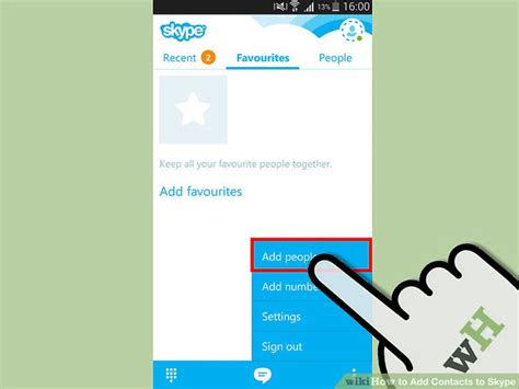 How To Add Contacts To Skype (with Pictures) Wikihow