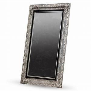 Großer Spiegel Silber : grosser barock wandspiegel laura silber 101x191cm edler ankleidespiegel 4250371519496 ebay ~ Whattoseeinmadrid.com Haus und Dekorationen