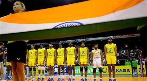 asian mens volleyball championship india start  brilliantly  shocking top guns