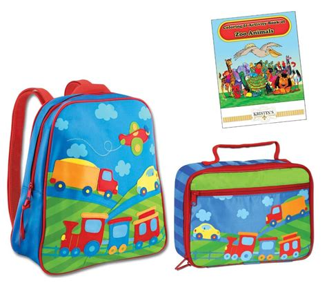 stephen joseph gogo go backpack lunch box set toddler 618 | 821491120 o