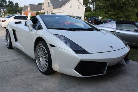 lamborghini gallardo spyder diminished  car