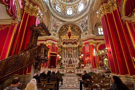 photo saint publius church  floriana malta