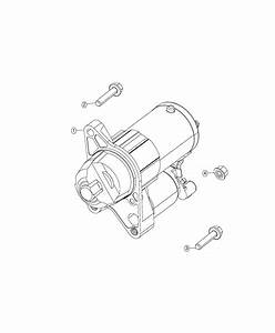2019 Jeep Compass Starter  Engine   Power Train Parts