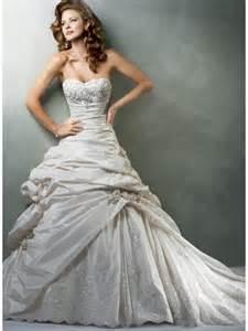 beaded wedding gowns sweetheart strapless applique beaded taffeta a line princess vintage wedding dress prlog