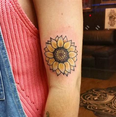 los mejores tatuajes de girasoles  su significados