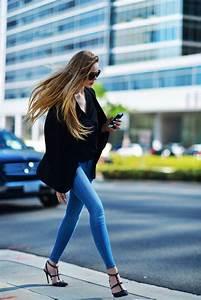 Blazer Femme Noir : comment porter un blazer femme les nouvelles tendances ~ Preciouscoupons.com Idées de Décoration