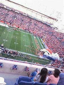 Empower Field At Mile High Stadium Section 506 Row 4