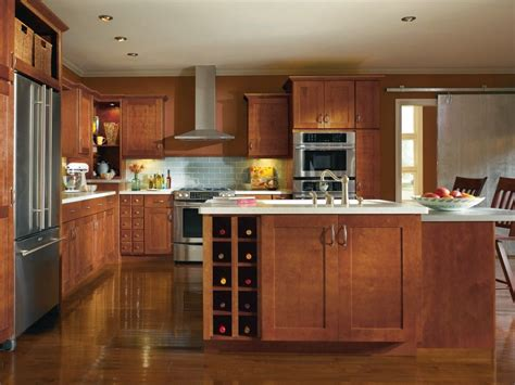 Thomasville Kitchen Cabinets At Home Depot by Crofton Maple Gingerbread Kitchen By Thomasville Cabinetry