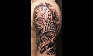 Tatouage Montre A Gousset Avant Bras : tatouage bras horloge id es de tatouages et piercings ~ Carolinahurricanesstore.com Idées de Décoration