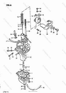 Suzuki Atv 1984 Oem Parts Diagram For Carburetor