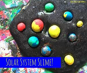 Mini Monets and Mommies: Kids' Solar System Slime Science ...