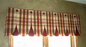 Kitchen valances patterns randy gregory design kitchen for Curtain patterns for kitchen windows