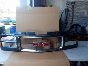 94 95 96 97 98 99 00 Chevy Gmc 1500 Truck Pickup Grille W   Chrome Trim