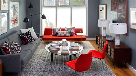 Home Design Lover : 22 Beautiful Red Sofas In The Living Room