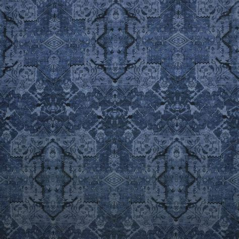 Ralph Upholstery Fabric by Ralph Fabrics Anglesey Velvet Lcf66622f Cerulean Blue