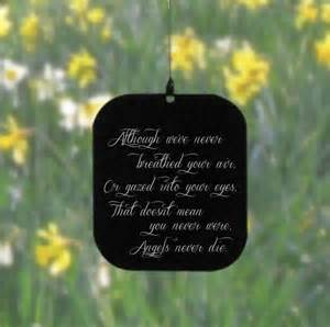 personlized cutting boards memorial wind chime with never die poem rmgifts