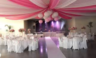 deco de salle mariage nos décorations de salles de mariage en images