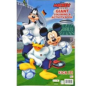 Magic With Mickey Book by Disney Mickey Mouse And Friends Coloring