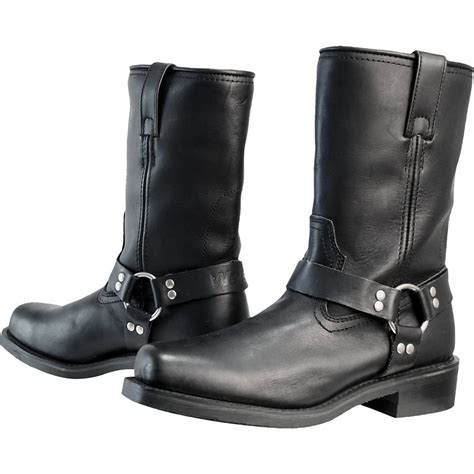 motorcycle boots weise cowboy waterproof cruiser style touring motorbike