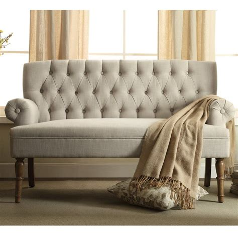 Cheap Settee Sofa by Hermosa 59 Quot Settee Shopping Settee Chesterfield Sofa
