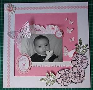 Album Photo Naissance Fille : scrapbooking bebe fille ~ Dallasstarsshop.com Idées de Décoration